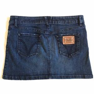 D&G | Mini Jean Skirt